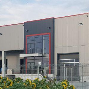 Нова логистична база в Пловдив